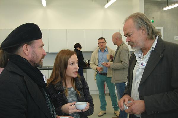 od lewej: Aleksander Fokin i Ed van Dijk