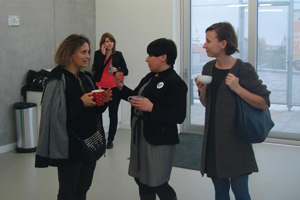 from left: Pilar Aldana-Mendez, Agnieszka Leśniak-Banasiak, Agnieszka Bar