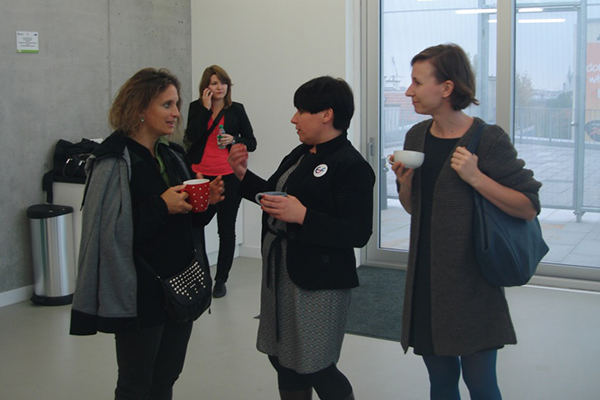 od lewej: Pilar Aldana-Mendez, Agnieszka Leśniak-Banasiak, Agnieszka Bar